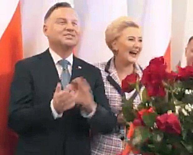 Niesamowite wydarzenie w Pałacu Prezydenckim, wzruszające oświadczyny. Agata Duda była zachwycona