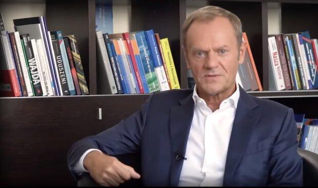 Donald Tusk/YouTube @Janusz Jaskółka
