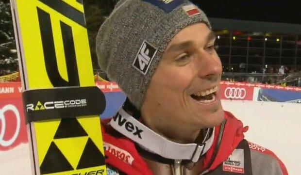Piotr Żyła/Youtube @TVP Sport