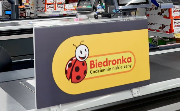 Biedronka/screen mat. prasowe Biedronka