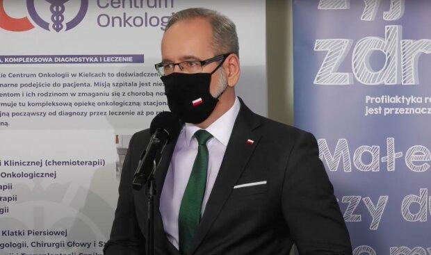 Minister zdrowia Adam Niedzielski / YouTube: Kancelaria Premiera