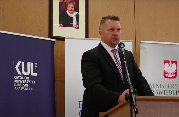 Przemysław Czarnek / YouTube:   naTemat.pl
