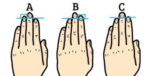Co mówi o nas długość palców?