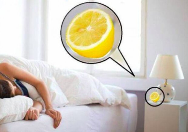Cytryna położona przy łóżku może bardzo pomóc!