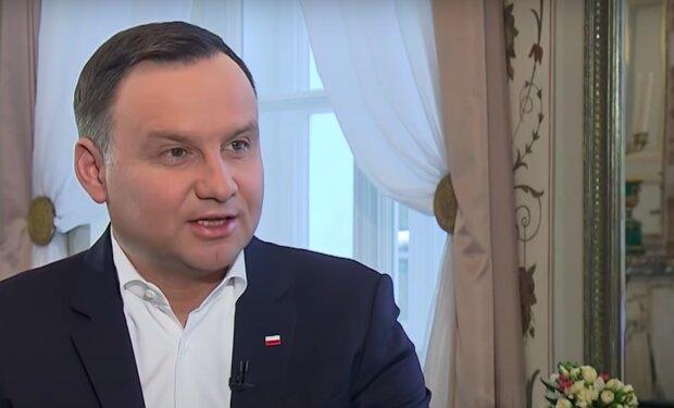 Prezydent Andrzej Duda / YouTube:  Prezydent.pl