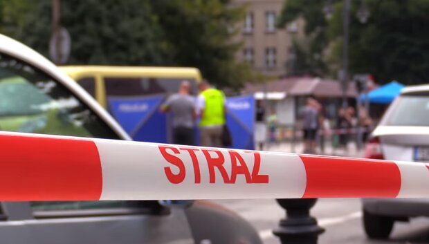 Wypadek w Katowicach/ YouTube @ SILESIA FLESZ TVS