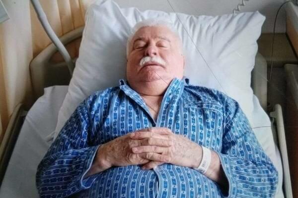 Zaskakujące doniesienia o stanie zdrowia Lecha Wałęsy, znów jest w szpitalu