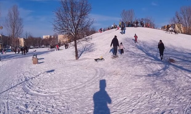 Śnieg/ screen YT