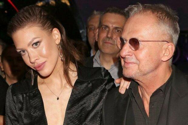 Bogusław Linda pojawił się na premierze filmu w towarzystwie sporo młodszej kobiety. Jest zjawiskowo piękna