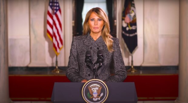 Melania Trump / YouTube:  The White House