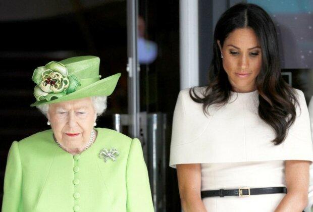 """Królowa Elżbieta ostro potraktowała Meghan i Harry'ego. Tak mocnej reakcji na """"Megxit"""" ze strony monarchini ze spodziewał się nikt"""