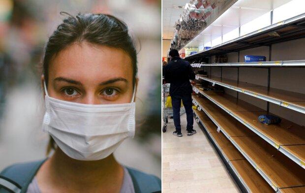 Polacy szykują sięna epidemię. Ze sklepów znika dosłownie wszystko
