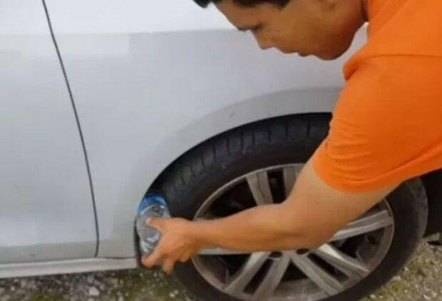 Warto sprawdzić samochód przed odjazdem!/YouTube