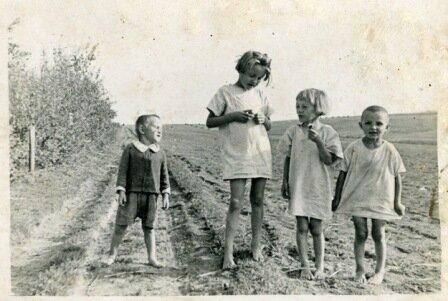 Małe dzieci, samotna matka