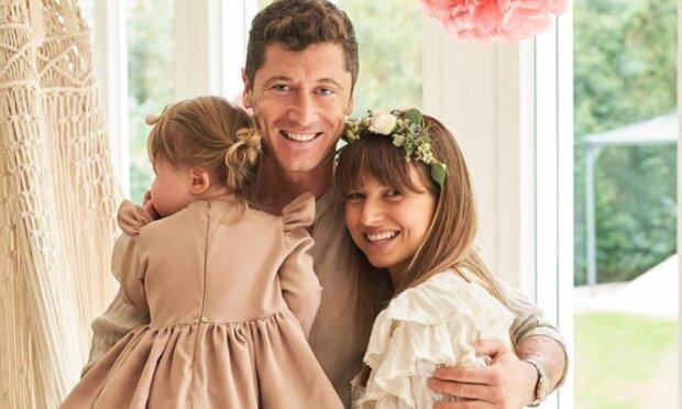 Wiemy jak wygląda Klara-córka Ani i Roberta Lewandowskich ukrywana przed światem