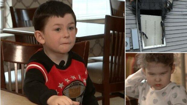 5-letni chłopiec uratował siostrę przed pożarem. I wrócił do płonącego domu po psa
