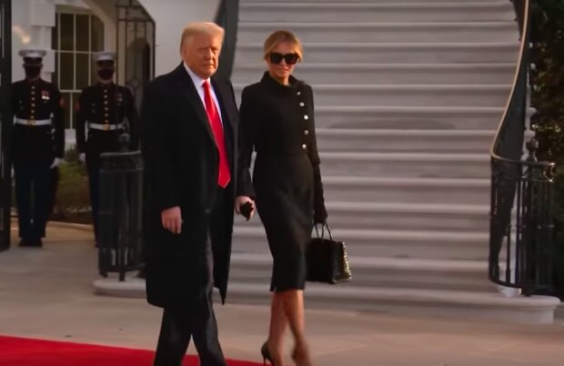 Melania i Donald Trump / YouTube:  Inside Edition