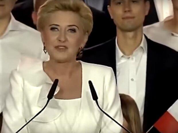 Agata Duda / YouTube: naTemat.pl
