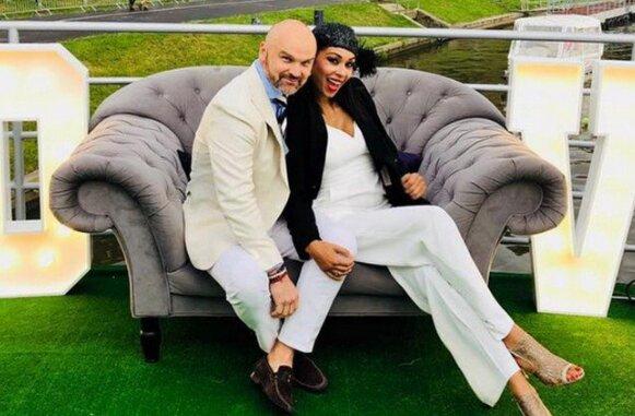Omena Mensah już po ślubie. Odkryła swoją tajemnicę