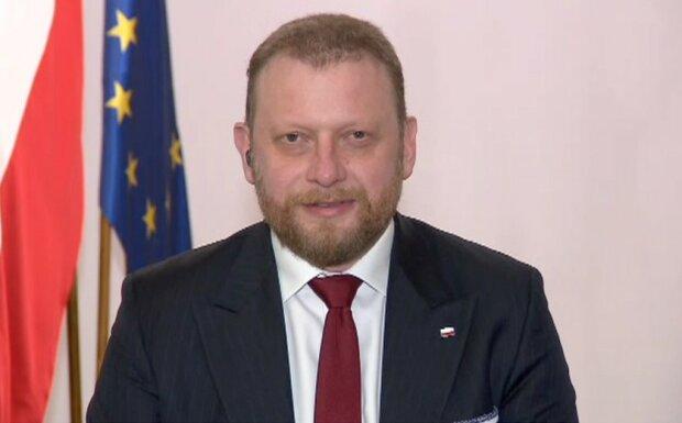 Łukasz Szumowski/screen Twitter @Konrad Piasecki