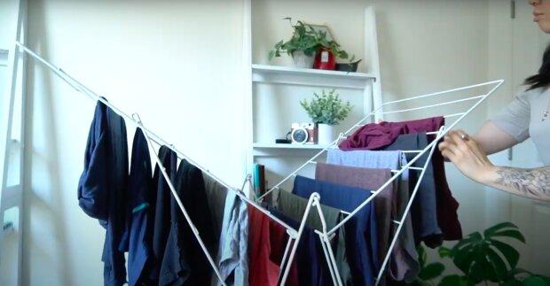 Jak prawidłowo suszyć pranie? / YouTube:  miss methodical