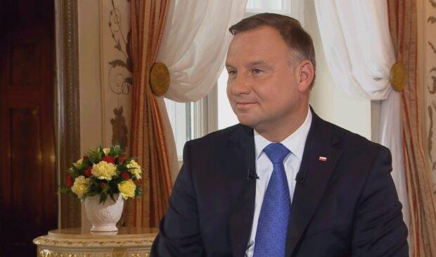 Andrzej Duda/YouTube @polsatnews.pl