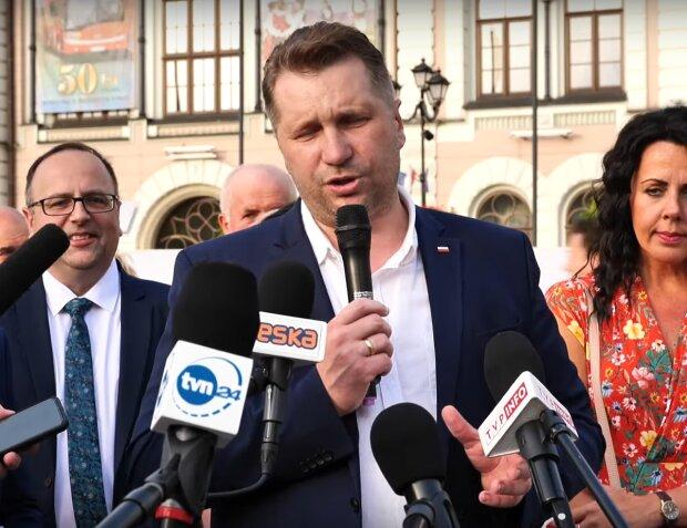 Minister Przemysław Czarnek YouTube: BESKIDLIVE TV