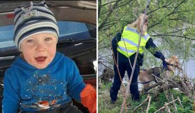 Trwają poszukiwania trzyletniego Kacperka/screen Dolnośląska Policja