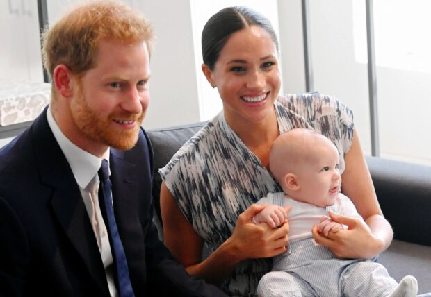 Meghan, Harry i Archie / screen YouTube