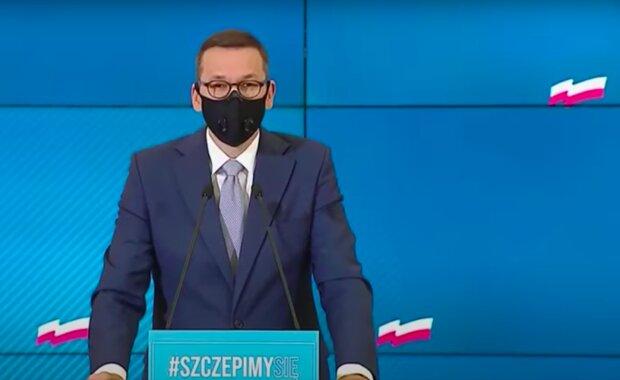Premier Mateusz Morawiecki / YouTube: TVP Info