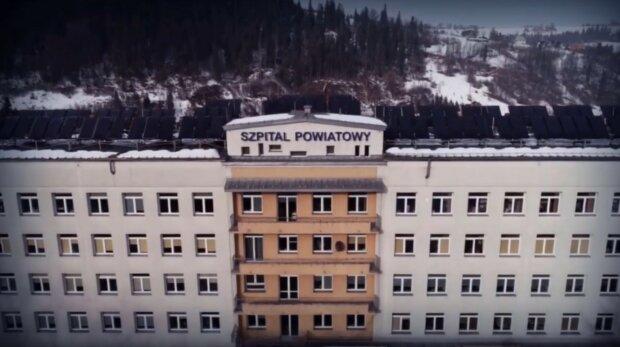 Szpital Powiatowy im. dr Tytusa Chałubińskiego w Zakopanem/Youtube @InterMarketing