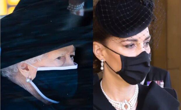 Królowa Elżbieta II, księżna Kate/YouTube @Gossip TV
