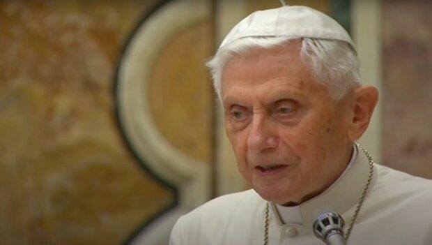 Benedykt XVI / YouTube: AFP Español