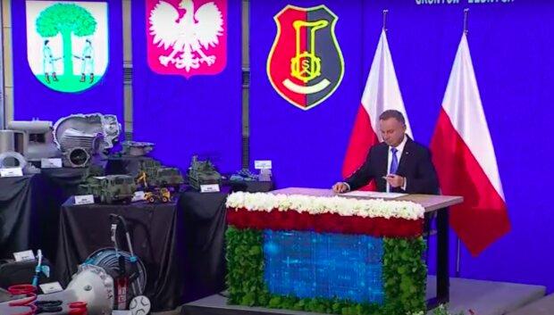 Prezydent Andrzej Duda / YouTube: Janusz Jaskółka