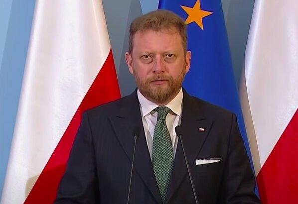 Minister Zdrowia Łukasz Szumowski / screen YouTube