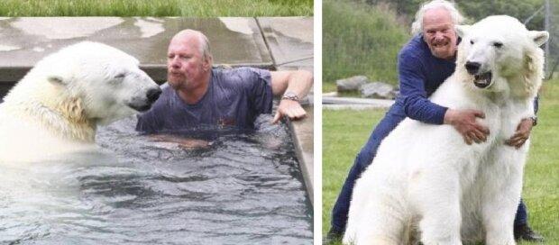 Od dwudziestu pięciu lat człowiek przyjaźni się z największym drapieżnikiem na Ziemi