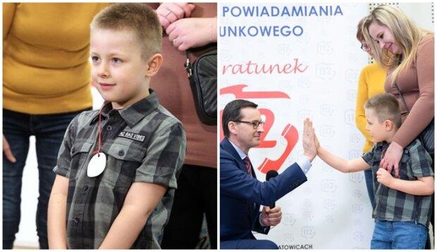 Niezwykle odpowiedzialny mały chłopiec. Rafał uratował swojej mamie życie
