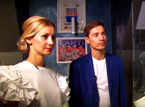Ewa Bilan-Stoch i Kamil Stoch / YouTube: TVP Sport