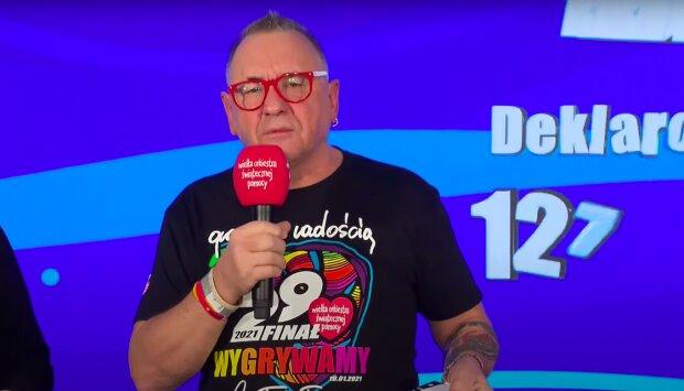 Jerzy Owsiak / YouTube:  Wielka Orkiestra Świątecznej Pomocy