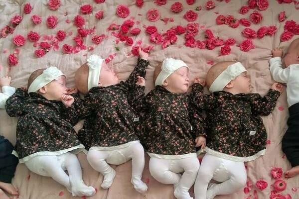 Mama polskich sześcioraczków pokazała nowe zdjęcia pociech. Niewiarygodne, jak szybko urosły