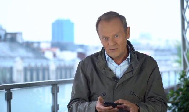 Donald Tusk/ YouTube @Janusz Jaskółka