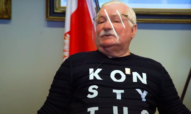 Lech Wałęsa / YouTube:  Magazyn VIVA!