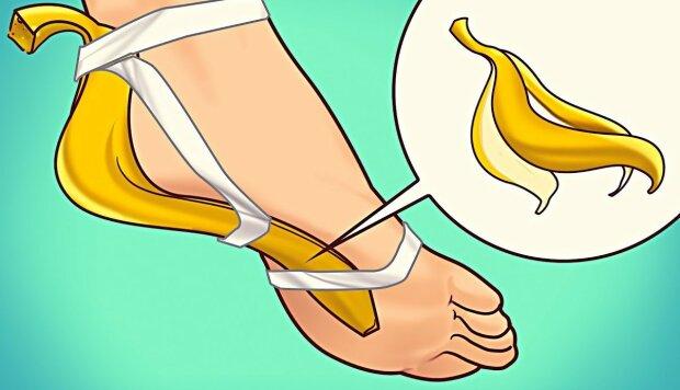 Po co wydawać krocie na chemiczne środki do pielęgnacji stóp. Ten banalny sposób z wykorzystaniem popularnego owocu sprawdzi się doskonale