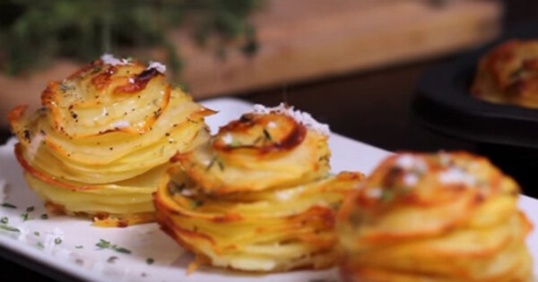 Przekąska z ziemniaków