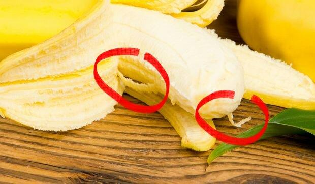 Białe niteczki w bananie pełnią ważną funkcję. Kiedy się o niej dowiesz, przestaniesz ją odrywać