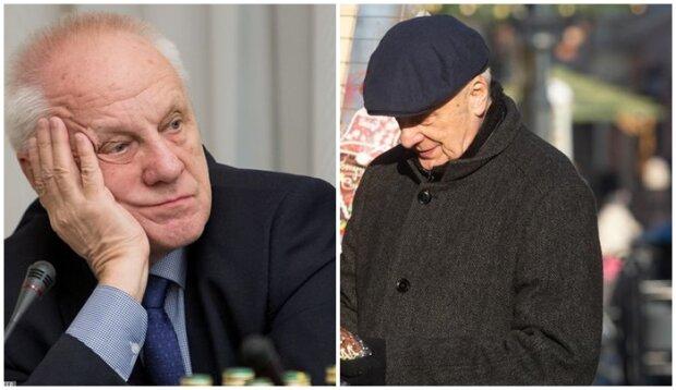 Stefan Niesiołowski korzysta z emerytury. Na jarmarku ogarnęła go świąteczna atmosfera