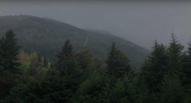 Deszczowa pogoda / YouTube:  The Relaxed Guy