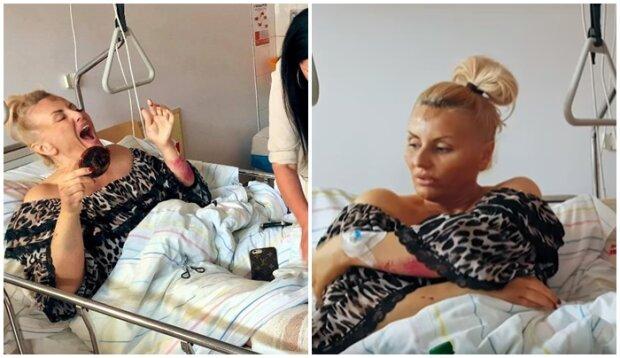 """""""Królowa Życia"""" zmartwiła fanów przez zdjęcie na Instagramie. Celebrytka zmaga się z brakiem sprawności, nie wiadomo, co będzie z jej nogami"""