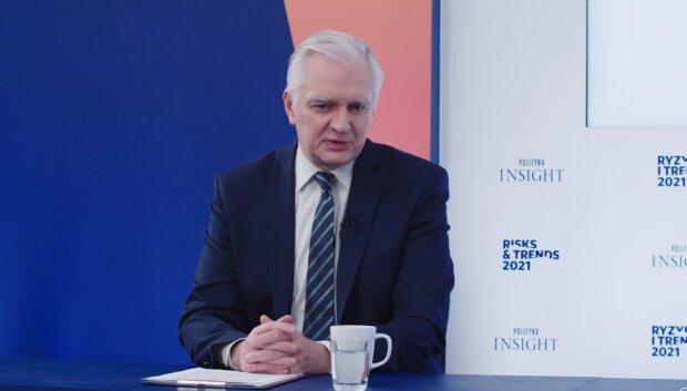 Jarosław Gowin/YouTube @Polityka Insight