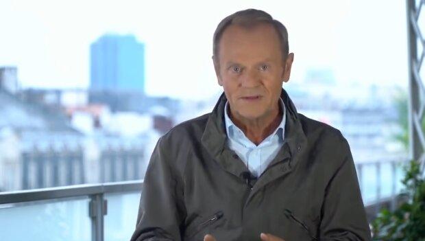 Donald Tusk/ screen youtube